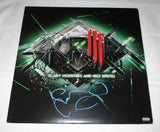 SKRILLEX SIGNED SCARY MONSTERS AND SPRITES VINYL RECORD
