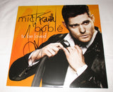 MICHAEL BUBLE SIGNED TO BE LOVED VINYL RECORD