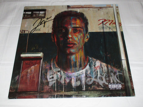 LOGIC SIGNED UNDER PRESSURE VINYL RECORD SIR ROBERT BRYSON HALL
