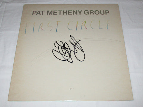 PAT METHENY SIGNED FIRST CIRCLE VINYL RECORD