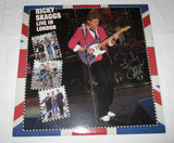RICKY SKAGGS SIGNED LIVE IN LONDON VINYL RECORD