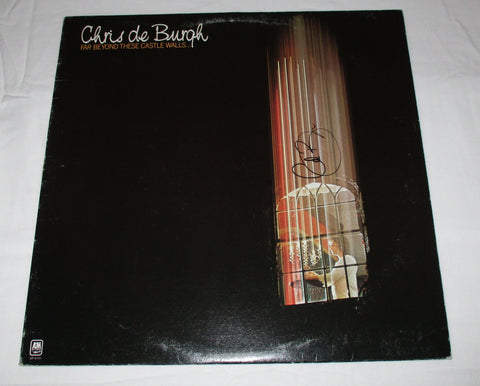 CHRIS DE BURGH SIGNED FAR BEYOND THESE CASTLE WALLS... VINYL RECORD