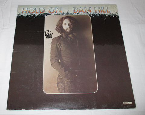 DAN HILL SIGNED HOLD ON VINYL RECORD