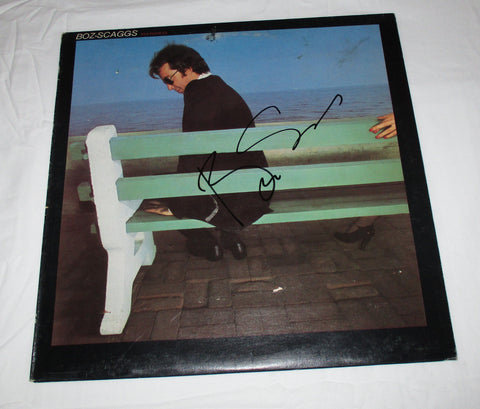 BOZ SCAGGS SIGNED SILK DEGREES VINYL RECORD