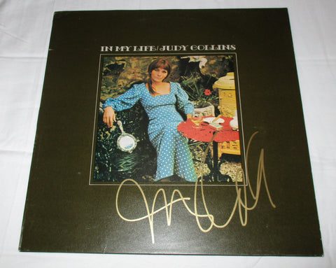 JUDY COLLINS SIGNED IN MY LIFE VINYL RECORD