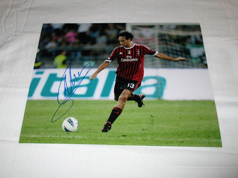 ALESSANDRO NESTA SIGNED AC MILAN 11X14 PHOTO
