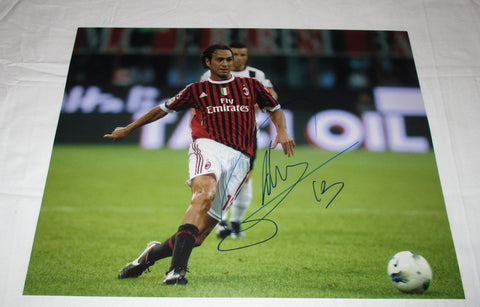 ALESSANDRO NESTA SIGNED AC MILAN 11X14 PHOTO 3