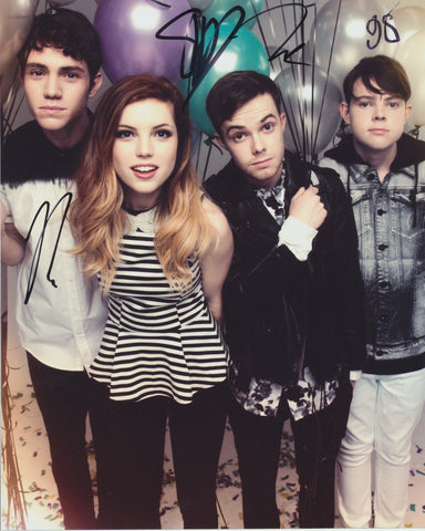 ECHOSMITH SIGNED 8X10 PHOTO