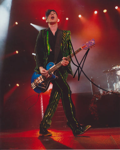 JOSH RAMSAY SIGNED MARIANAS TRENCH 8X10 PHOTO
