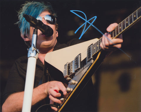 JOSH RAMSAY SIGNED MARIANAS TRENCH 8X10 PHOTO 5