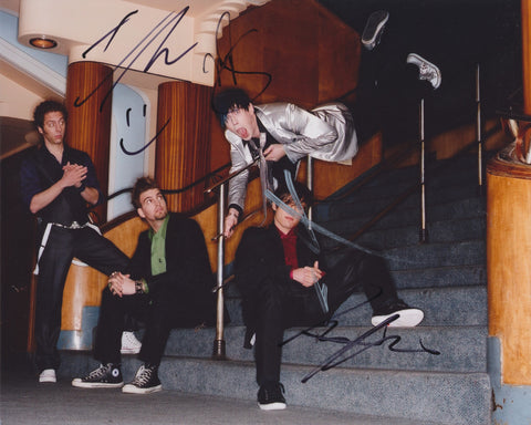 MARIANAS TRENCH SIGNED 8X10 PHOTO