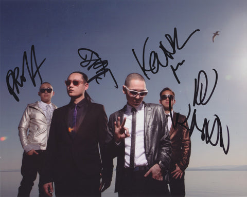 FAR EAST MOVEMENT SIGNED 8X10 PHOTO 2