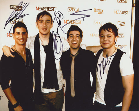 NEVEREST SIGNED 8X10 PHOTO 3