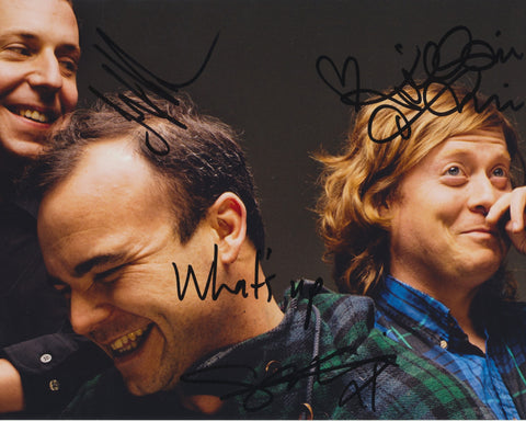 FUTURE ISLANDS SIGNED 8X10 PHOTO 6