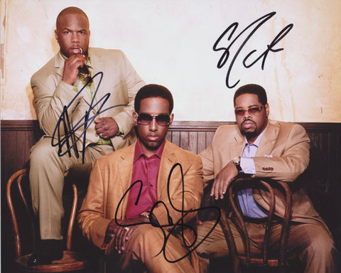 BOYZ II MEN SIGNED 8X10 PHOTO 2