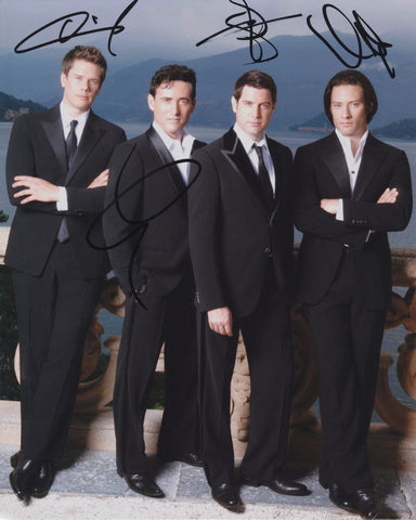 IL DIVO SIGNED 8X10 PHOTO 3