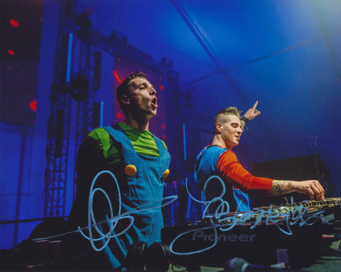 BLASTERJAXX SIGNED 8X10 PHOTO 5