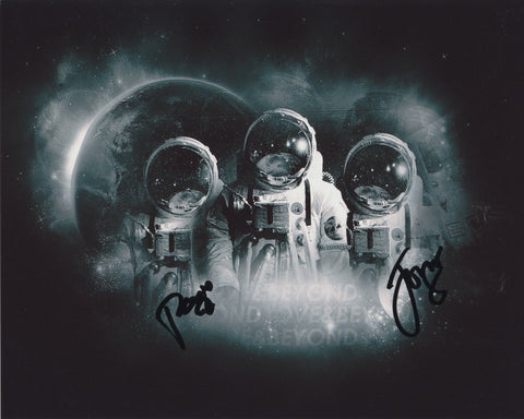 ABOVE AND BEYOND SIGNED 8X10 PHOTO