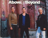 ABOVE AND BEYOND SIGNED 8X10 PHOTO 2