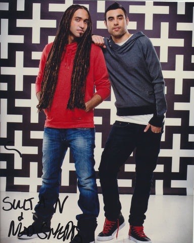 SULTAN AND SHEPARD SIGNED 8X10 PHOTO 3