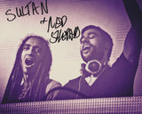 SULTAN AND SHEPARD SIGNED 8X10 PHOTO