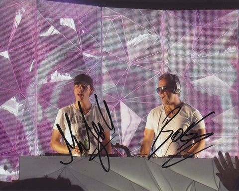 COSMIC GATE SIGNED 8X10 PHOTO