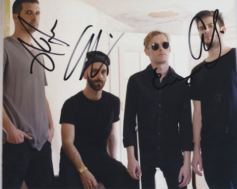 X AMBASSADORS SIGNED 8X10 PHOTO
