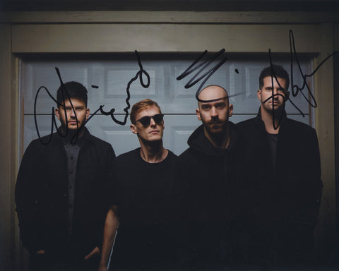X AMBASSADORS SIGNED 8X10 PHOTO 5