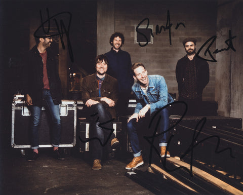 KAISER CHIEFS SIGNED 8X10 PHOTO