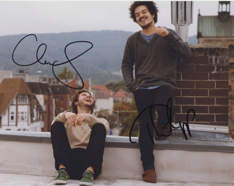 MILKY CHANCE SIGNED 8X10 PHOTO 10