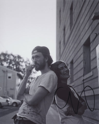ALEX EBERT SIGNED EDWARD SHARPE AND THE MAGNETIC ZEROS 8X10 PHOTO 8