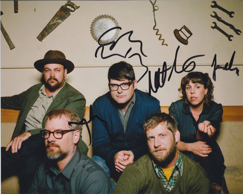 THE DECEMBERISTS SIGNED 8X10 PHOTO 2