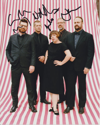 THE DECEMBERISTS SIGNED 8X10 PHOTO 3