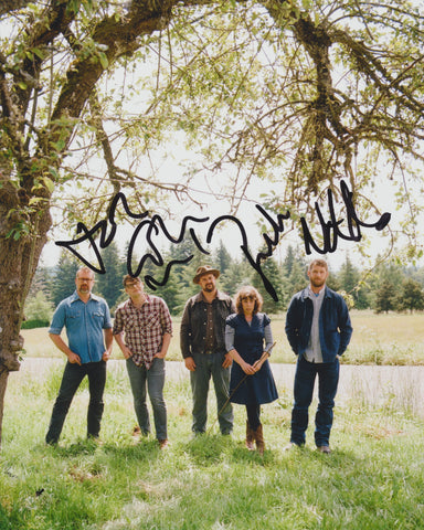 THE DECEMBERISTS SIGNED 8X10 PHOTO 4