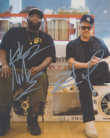 RUN THE JEWELS SIGNED 8X10 PHOTO