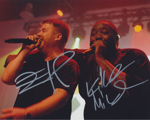 RUN THE JEWELS SIGNED 8X10 PHOTO 3