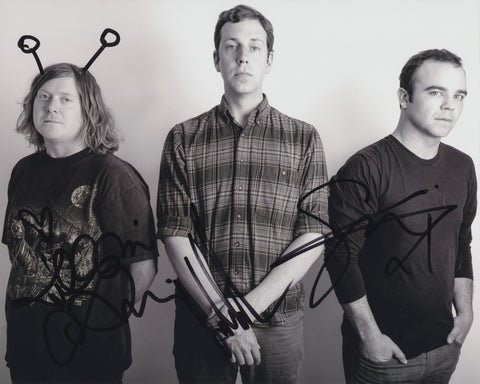 FUTURE ISLANDS SIGNED 8X10 PHOTO 2