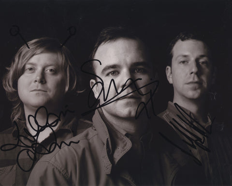 FUTURE ISLANDS SIGNED 8X10 PHOTO 3