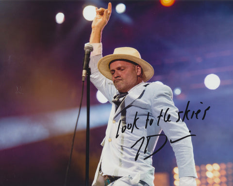 GORD DOWNIE SIGNED THE TRAGICALLY HIP 8X10 PHOTO 2