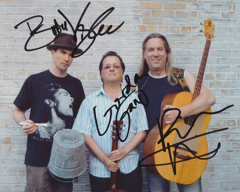 VIOLENT FEMMES SIGNED 8X10 PHOTO