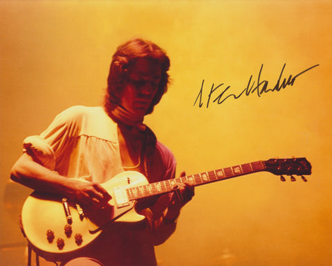 STEVE HACKETT SIGNED GENESIS 8X10 PHOTO