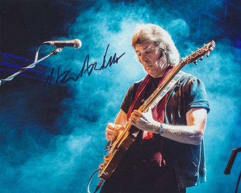 STEVE HACKETT SIGNED GENESIS 8X10 PHOTO 2