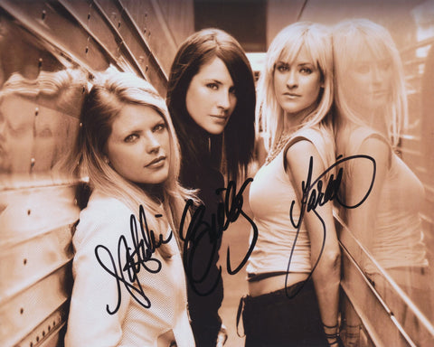 DIXIE CHICKS SIGNED 8X10 PHOTO