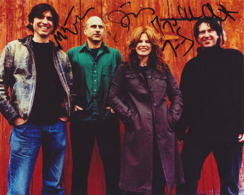 COWBOY JUNKIES SIGNED 8X10 PHOTO