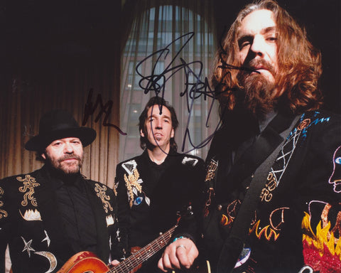 BLACKIE AND THE RODEO KINGS SIGNED 8X10 PHOTO