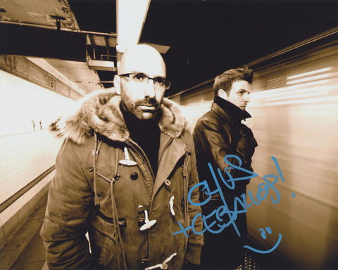 CHUS AND CEBALLOS SIGNED 8X10 PHOTO