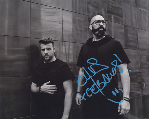 CHUS AND CEBALLOS SIGNED 8X10 PHOTO 2