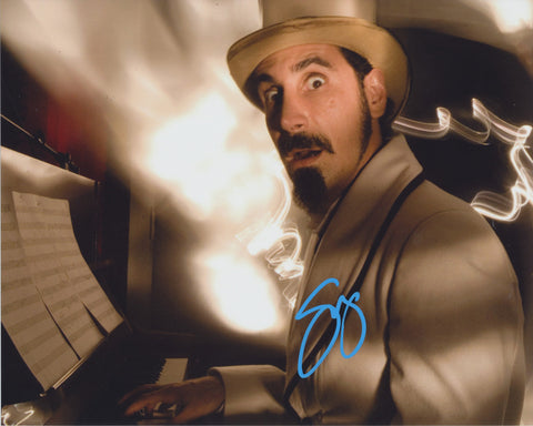 SERJ TANKIAN SIGNED SYSTEM OF A DOWN 8X10 PHOTO
