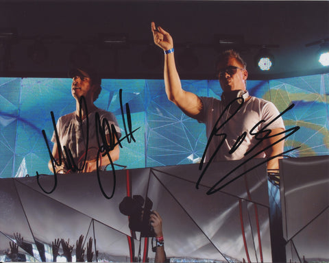 COSMIC GATE SIGNED 8X10 PHOTO 4