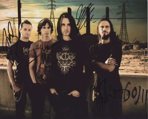 GOJIRA SIGNED 8X10 PHOTO